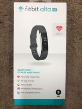NEW Fitbit - Alta HR Activity Tracker + Heart Rate (Small) - Black