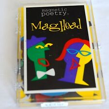 VTG Mag Head Magnetic Poetry Cubist Portrait Art Mr Picasso Head Magnets Kapell