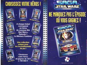 Ticket Française des jeux Saga Star Wars Obi-Wan Kenobi