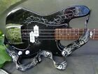 Tele-bass guitar: PCsGC/Marlin with oldish case & new strap for sale