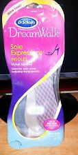 Dr. Scholl's Dream Walk Sole Expressions Insoles 3 Pairs Womens Size 6-10