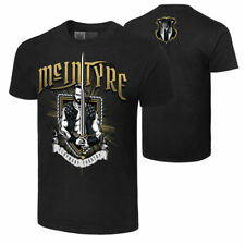 "WWE DREW MCINTYRE ""CLAYMORE COUNTRY"" OFFICIAL T-SHIRT ALL SIZES NEW"