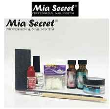 MIA SECRET - Clear ACRYLIC NAIL System STARTER KIT