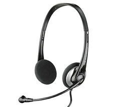 Headset Headphones with Noise-cancelling Mic for Laptop Desktop Computer