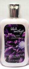 1 Bottle - BLACK AMETHYST - Body Lotion - 8oz FULLSIZE - Bath and Body Works