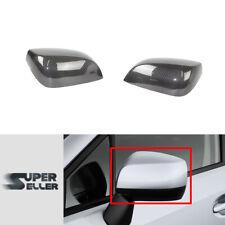 Real Carbon Side Mirror Cover For Subaru WRX STI 4th Sedan 15-16 w/o Indicator