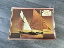 More details for very rare remploy industry model kit of the hastings lugger.