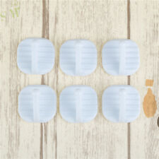 Multifunction 6pcs Strong Suction Cup Sucker Wall Hooks Hanger Tower Holder Wo Gray