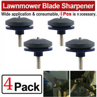 4PACK Lawn Mower Faster Blade Sharpener Grinding Power Drill Grinder Garden Tool