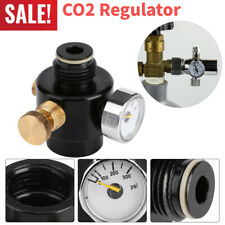 0- 300Psi Constant Co2 Compress Air Regulator Aquarium Gauge Display Valve Black