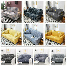 PREMIUM Elastic STRETCH SOFA COVERS Slipcover Protector Settee 1/2/3/4 Seater