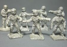 Dungeons & Dragons Miniatures Lot  Mummy Undead x7 !!  s94