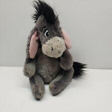 "Disney Parks Eeyore Plush Stuffed Animal 8"" Winnie the Pooh and Friends Donkey"