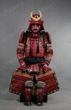 Iron & Silk Japanese Red Rüstung Art Samurai Warrior Armor wearable