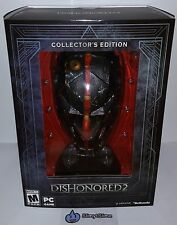 Dishonored 2: Premium Collector's Edition + Mask (PC Steam, 2016) NEW, SOLD OUT!