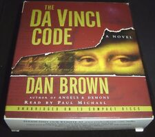 The Da Vinci Code By Dan Brown 2003 Cd Unabridged Read By Paul Michael