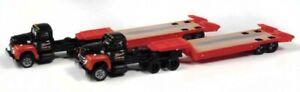 N - 11954 International Harvester R-190 with Lowboy  (2 PACK) - CMW-51193