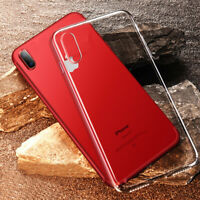 Case for iPhone XS X Ultra Slim CLEAR GEL Shockproof Soft Silicone Bumper Cover