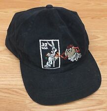 Looney Tunes Bugs Bunny & Taz Stamp Collection 32 Cent Snapback Baseball Cap Hat