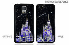 Disney Castle Shooting Stars All Apple iPhone and Samsung Galaxy Phone Case