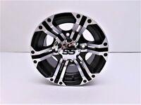 ITP SS212 Wheel 12x7 5+2 Offset 4/137 Bolt Pattern Machined 1222230404B