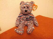 """""""Ty"""" Beanie Babies."""" U.S.A."""" D.O.B. July 4 ,2000.Retired.#264"""