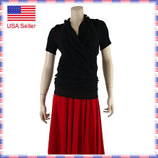 6939 Womens Stretchy Ballroom Latin Country Party Warmup Dance Coverup Wrap