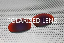 LINEGEAR Custom Lens for Oakley Juliet - Red Mirror- Polarized [JU-RM-POLA]