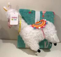 Limited Too Nogginz Pillow Travel Set Throw Blanket Lama No Prob Llama Cute Gift