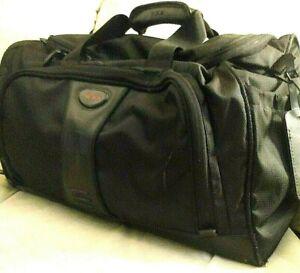 "Tumi Alpha Bravo Duffle Travel Gym Carry On Ballistic Nylon 18"" x 12"" x 10"""
