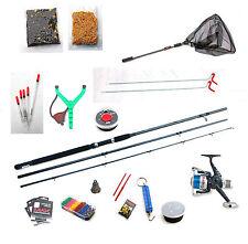 SILSTAR Float Fishing Start up Kit-rod Reel Floats Line Rod Rest Hooks Net Etc