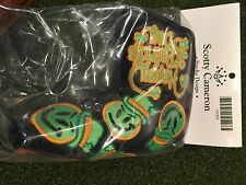 2013 Scotty Cameron Grinder St Patrick's Day head cover