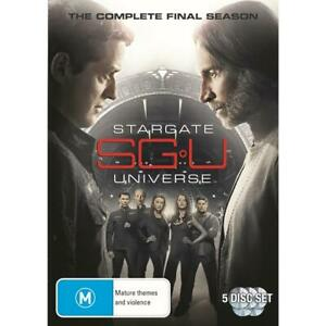 Stargate Universe: Season 2 (DVD, 5 discs) NEW & SEALED