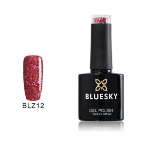 Bluesky Gel Polish BLZ12 Merlot Red UV/LED Soak Off Nail Gel Polish 10ml