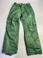 WOMENS RIDE SNOWBOARDS SMALL GREEN  INSULATED WATERPROOF WINTER SKI TROUSERS