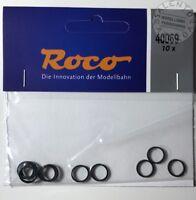 ricambi H0: ROCO 40069 anelli di aderenza 10,3-12,8 mm (conf. 10 pz)