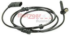 METZGER Sensor, Raddrehzahl Vorderachse rechts für MERCEDES-BENZ