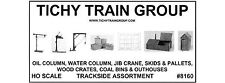 Tichy Train Group Trackside Assortment 7 Kits HO Scale New