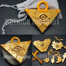 Yu-Gi-Oh YGO Millenium Puzzle YuGiOh Yugi Millennium Pendant and Gift Bag New