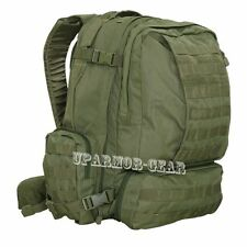 Tactical MOLLE 3DAY Assault Patrol Pack Hiking Backpack OD Green (CONDOR #125)