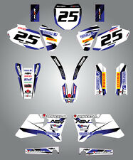 Yamaha YZF 400 - 426 - 1998 / 2002 Full Custom Graphics Kit Storm stickers