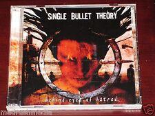Single Bullet Theory: Behind Eyes Of Hatred CD + DVD Set 2004 Crash Music NEW