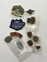 LOT 10 HARLEY DAVIDSON OWNERS GROUP HOG OPEN HOUSE PIN PATCHES KEY CHAIN RALLY