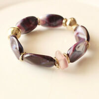 New Chicos Beads Elastic Bracelet Best Gift Fashion Women Party Holiday Jewelry