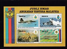 a122 - MALAYSIA - SGMS271 MNH 1983 50th ANNIV ARMED FORCES