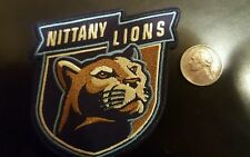 """Penn State Nittany Lions Vintage Embroidered Iron On Patch 3"""" X 3"""" Nice"""
