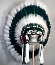 Native American Sacred Land Feather Headdress War Bonnet