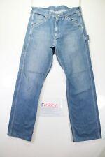 Lee carpenter (Cod. F1881)Tg46 W32 L34  jeans usato vita alta