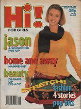 Hi! Magazine 16 February 1990   Jason Donovan   Belinda Carlisle   Roland Gift