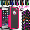 Anti-Shock Silicone Case For Apple iPhone X, 5S, 4S Extra Layer Cover Protection